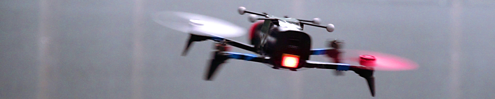 Drone met 2 rotors