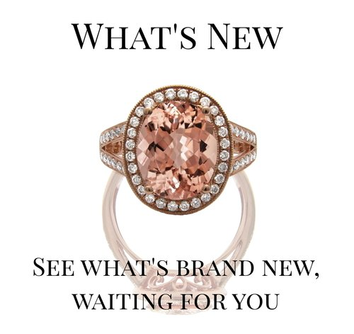 Oval Morganite and Diamond Halo, Rose Gold Ring