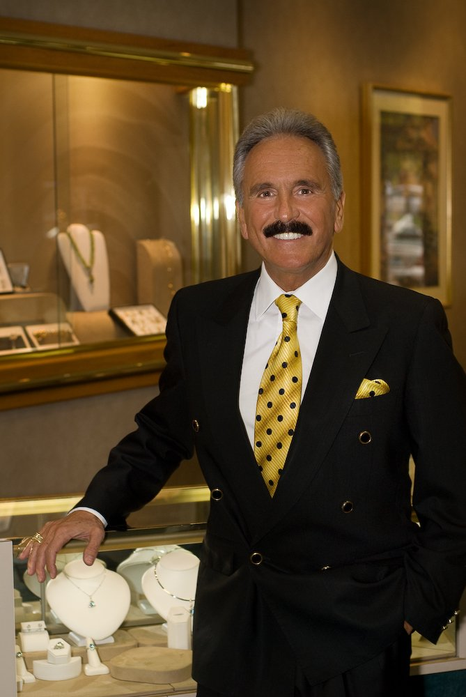 Owner Anthony Panebianco at Glastonbury Jewelers.