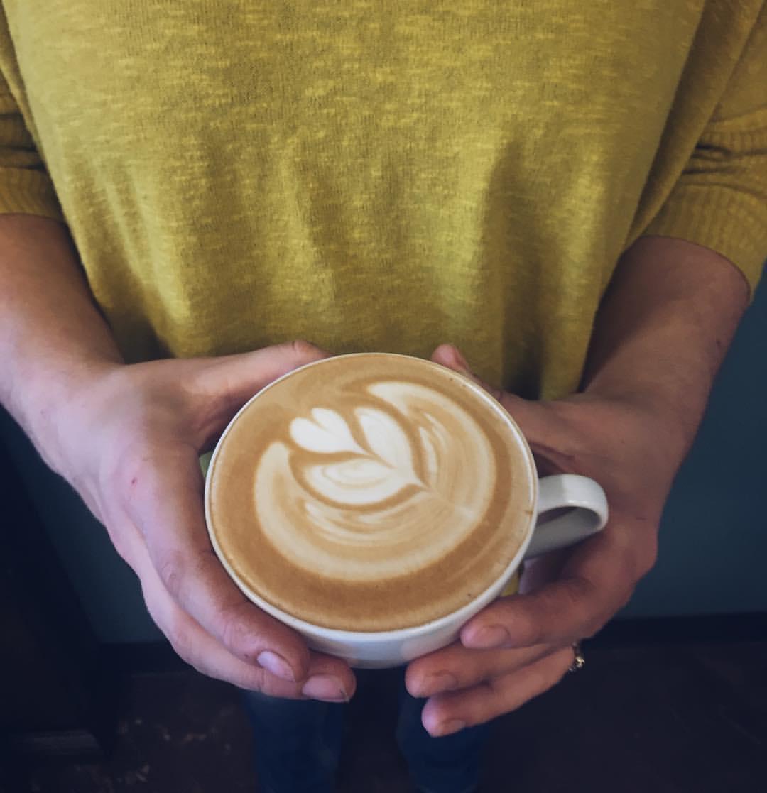 damascus latte art