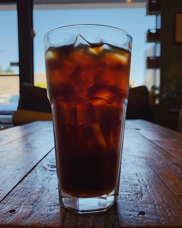 Seems like temperatures are rising again and the cold brew orders are going up! We're here till 4pm today ♥️