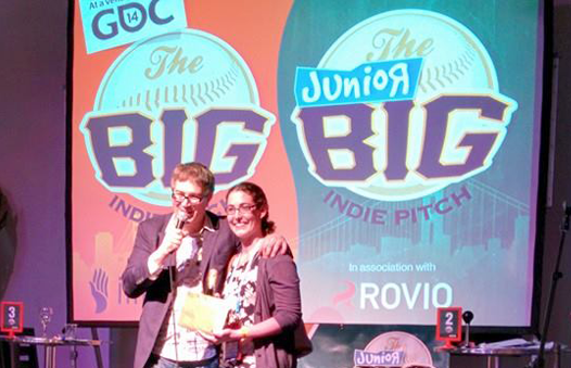 The Counting Kingdom, math game for kids, wins the Big Indie Pitch Jr. at GDC '14