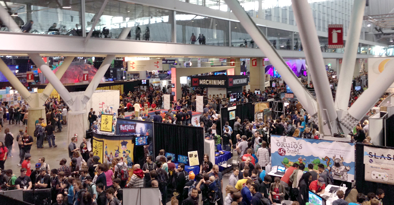 The Counting Kingdom at PAX East - the best math game for kids at the show!