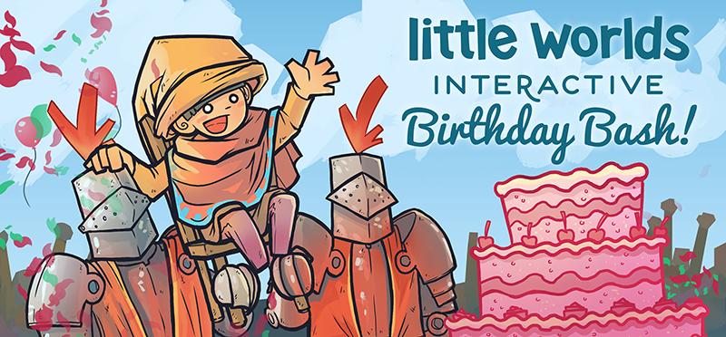 Little Worlds Interactive Birthday Bash
