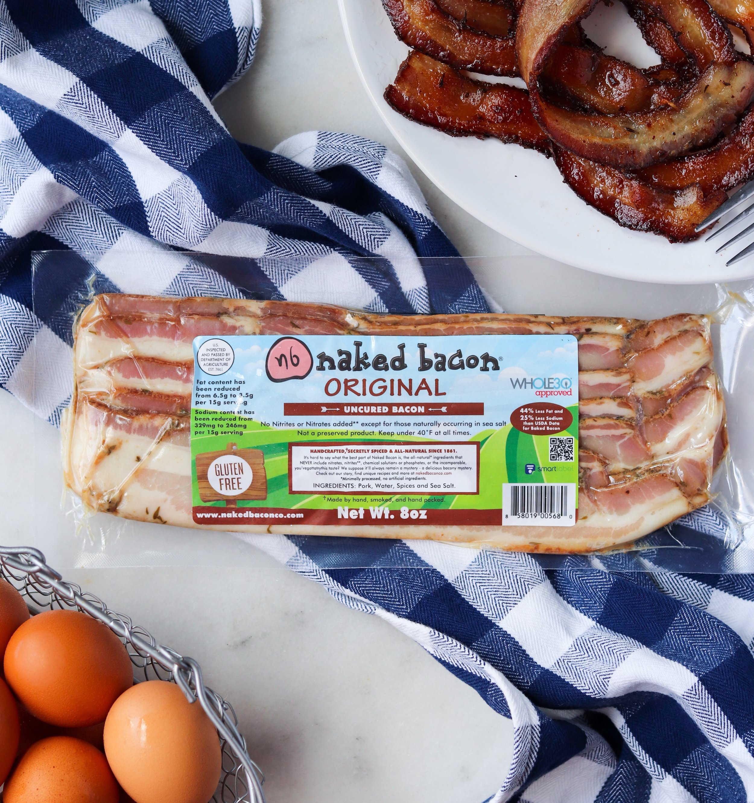 Original Naked Bacon