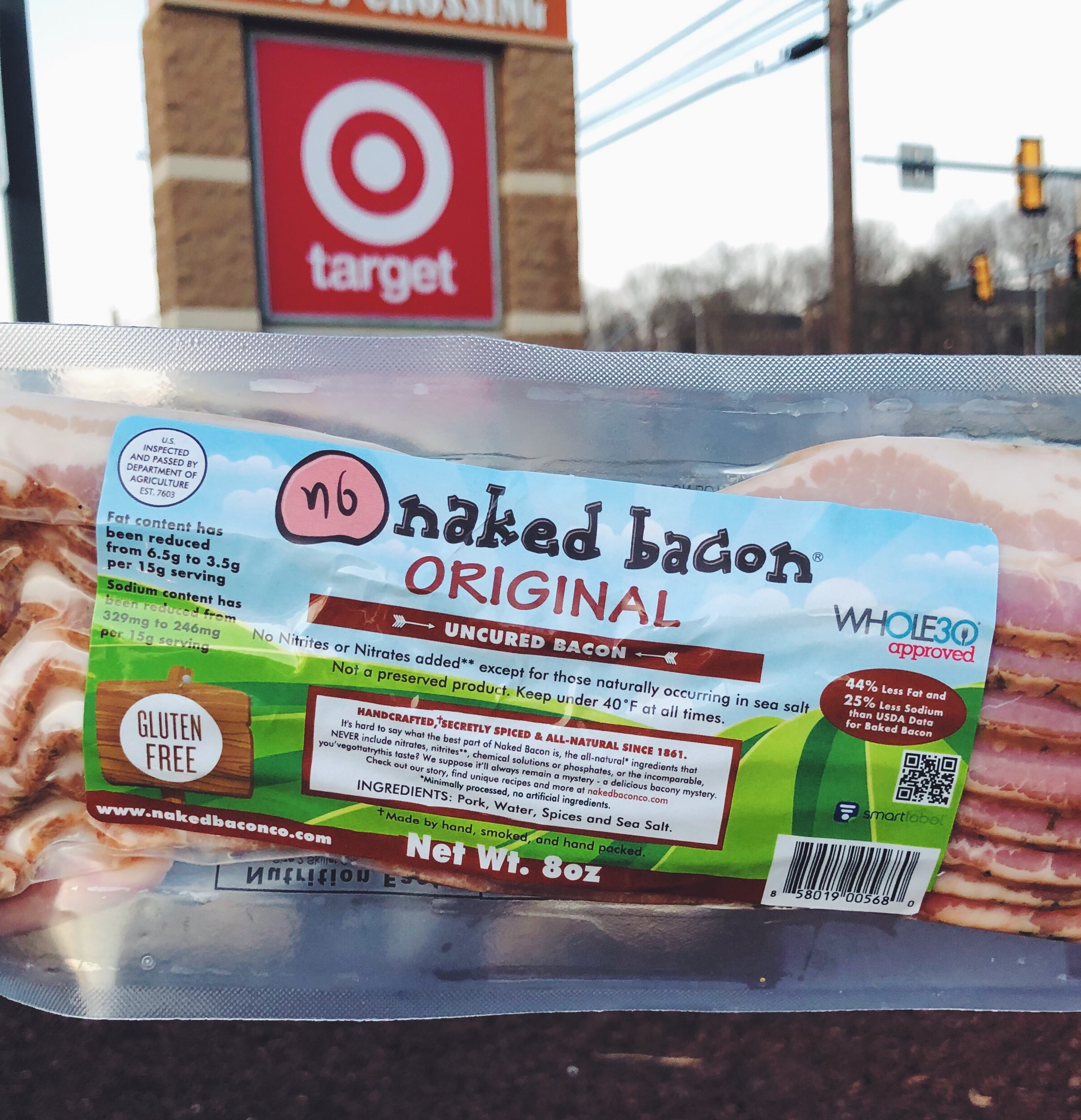 NAKED BACON AT TARGET.JPG