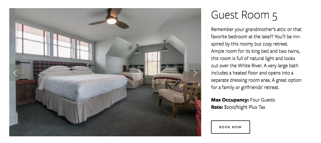 Hotel Broad Ripple Website