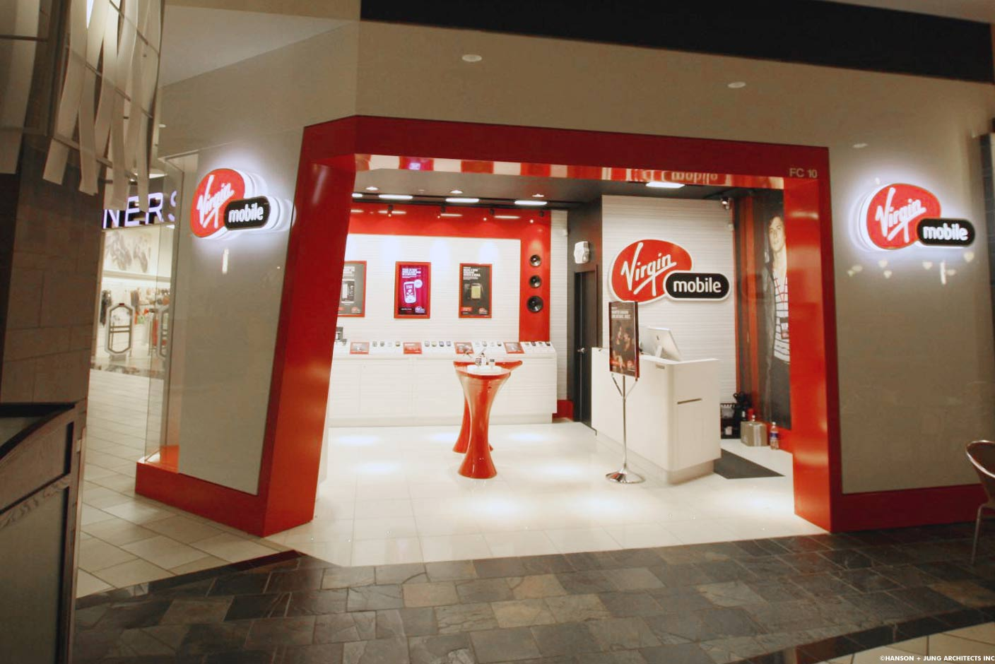Virgin Mobile Stores Across Canada — Hanson + Jung Architects Inc