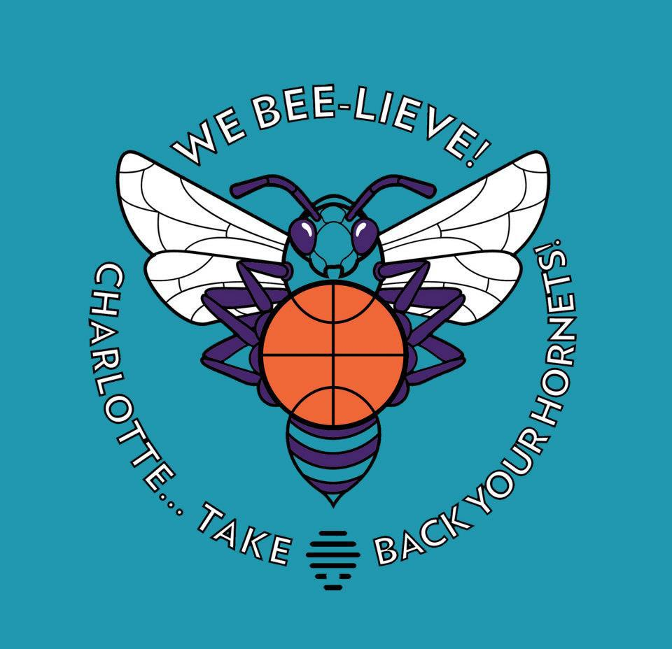 The 'We Beelieve' logo, designed by my friend and partner Greg Jones (visit Greg's amazing work at www.fiftyfourforty.com ).