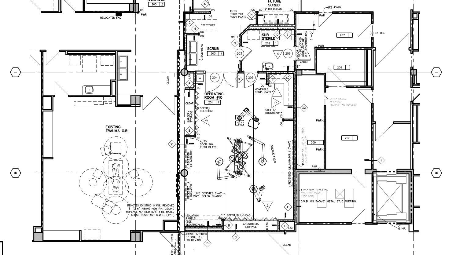 NEUROLOGICAL OPERATING ROOM #10 — Frandsen Architects