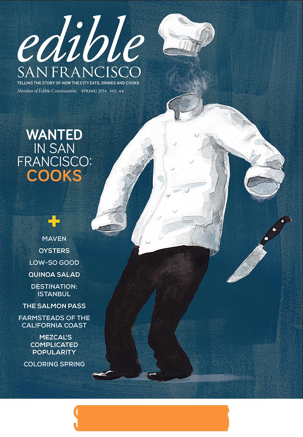 Edible SF, Spring 2016 Edition