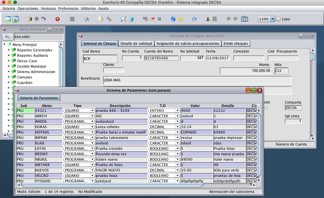 DECSIS (Desktop Version)