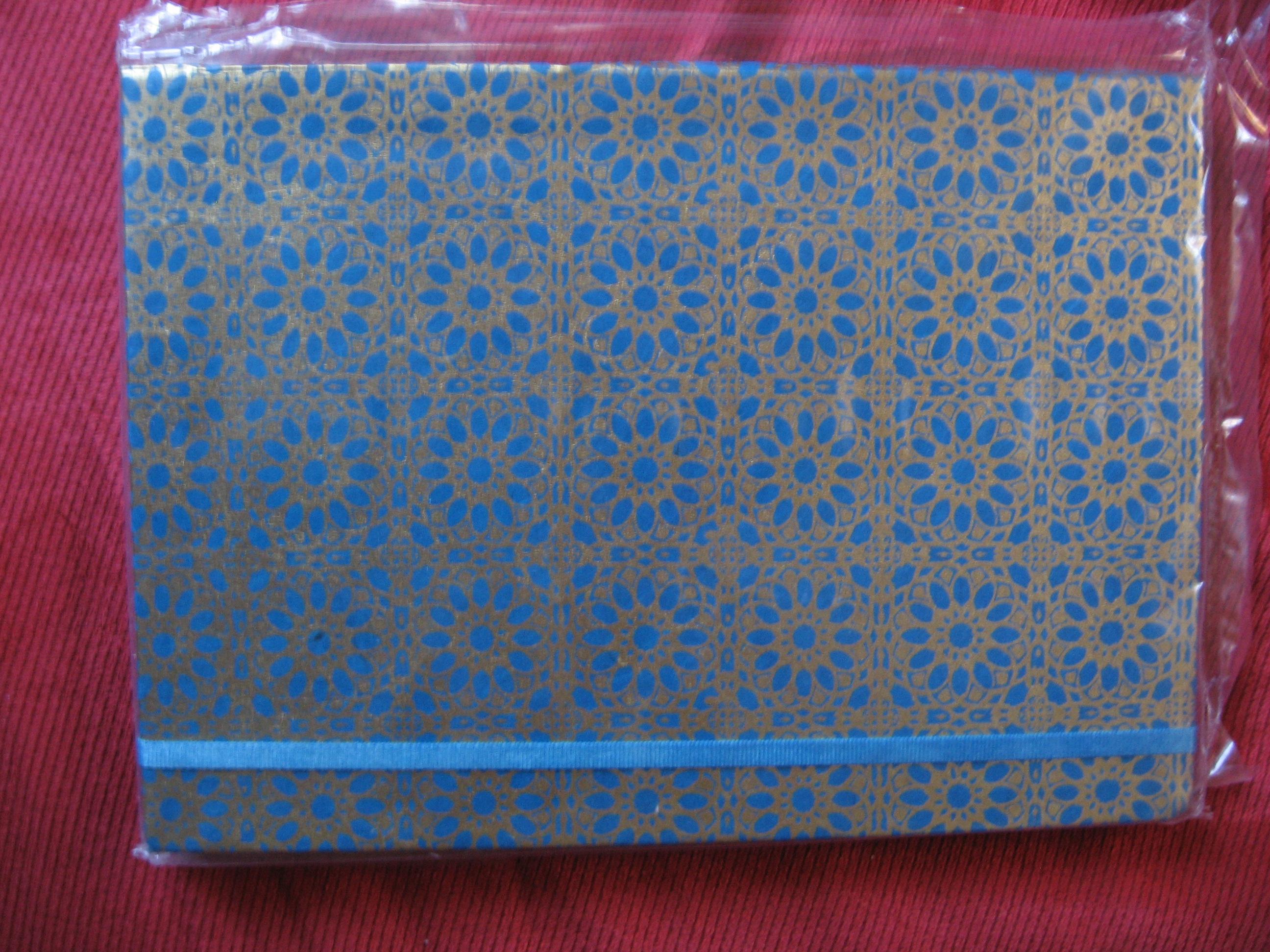 A fair trade notebook from SERRV.