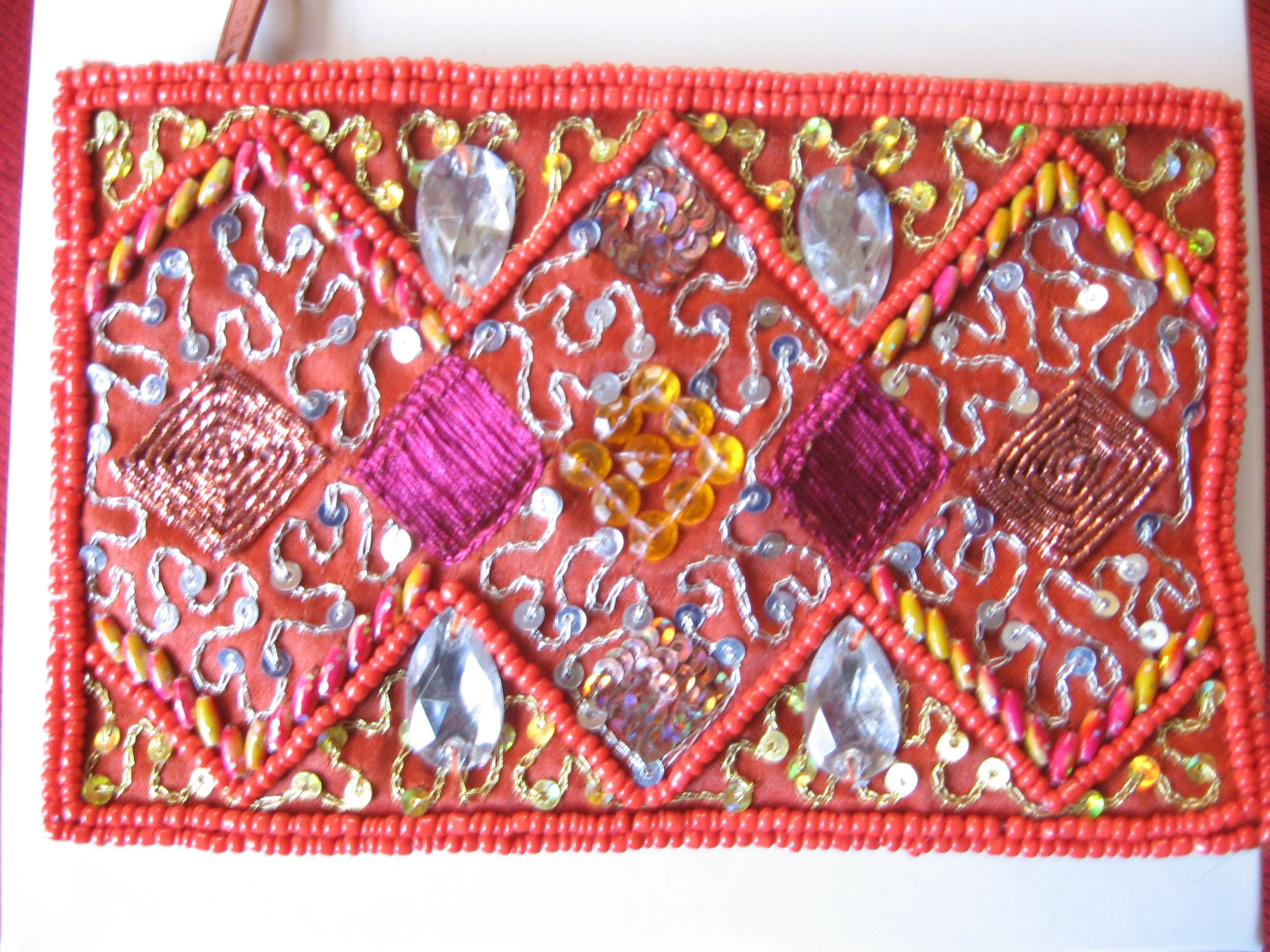 A fair trade coin purse from SERRV