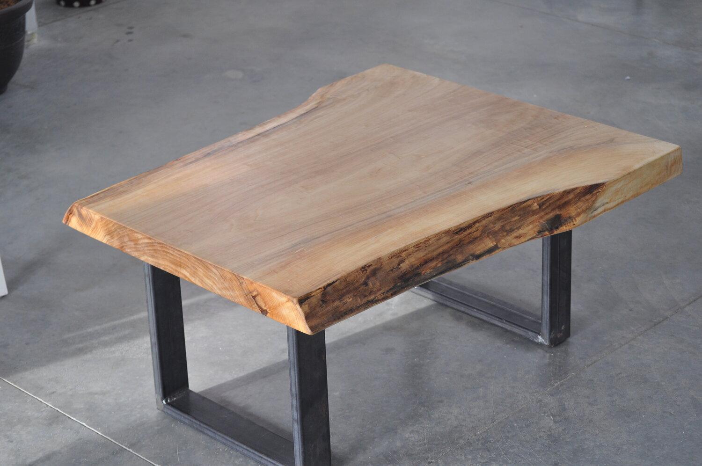 Live Edge Maple Coffee Table Urban Tables