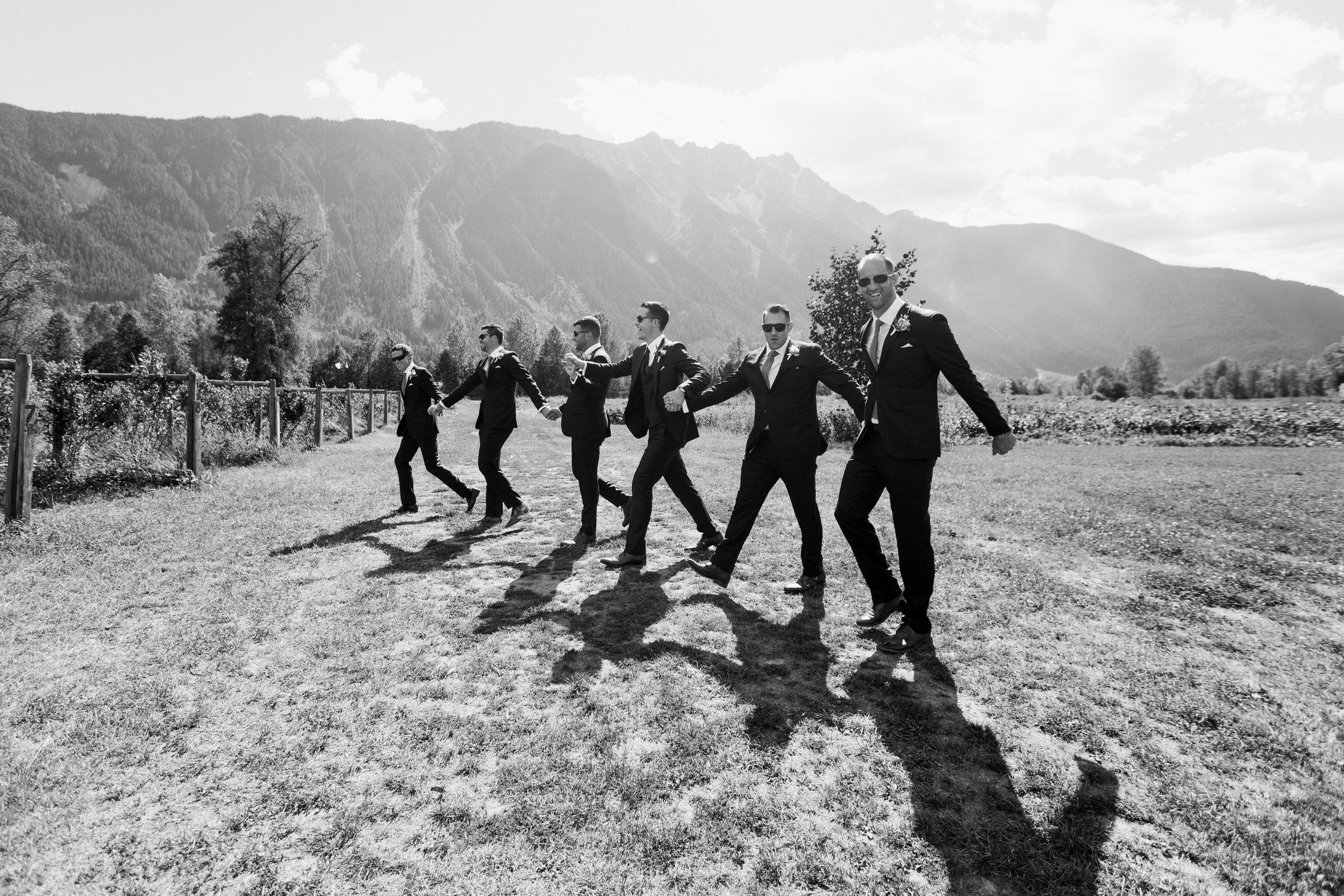 North Arm Farm Wedding - Pemberton Wedding Photographer