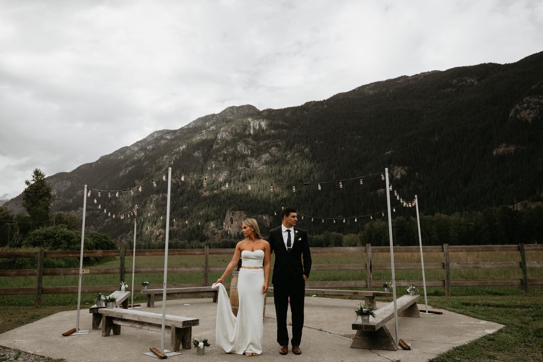 Pemberton and Whistler Wedding