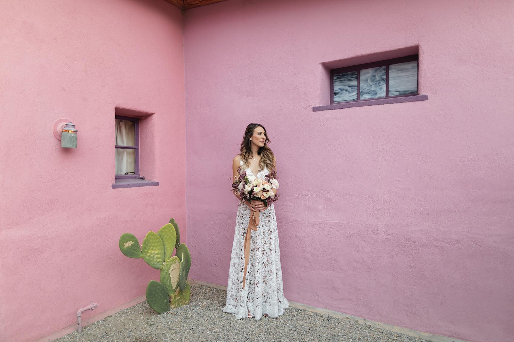 Boho Style Joshua Tree Jewish Wedding at The 29 Palms Inn, Destination Wedding Photographer