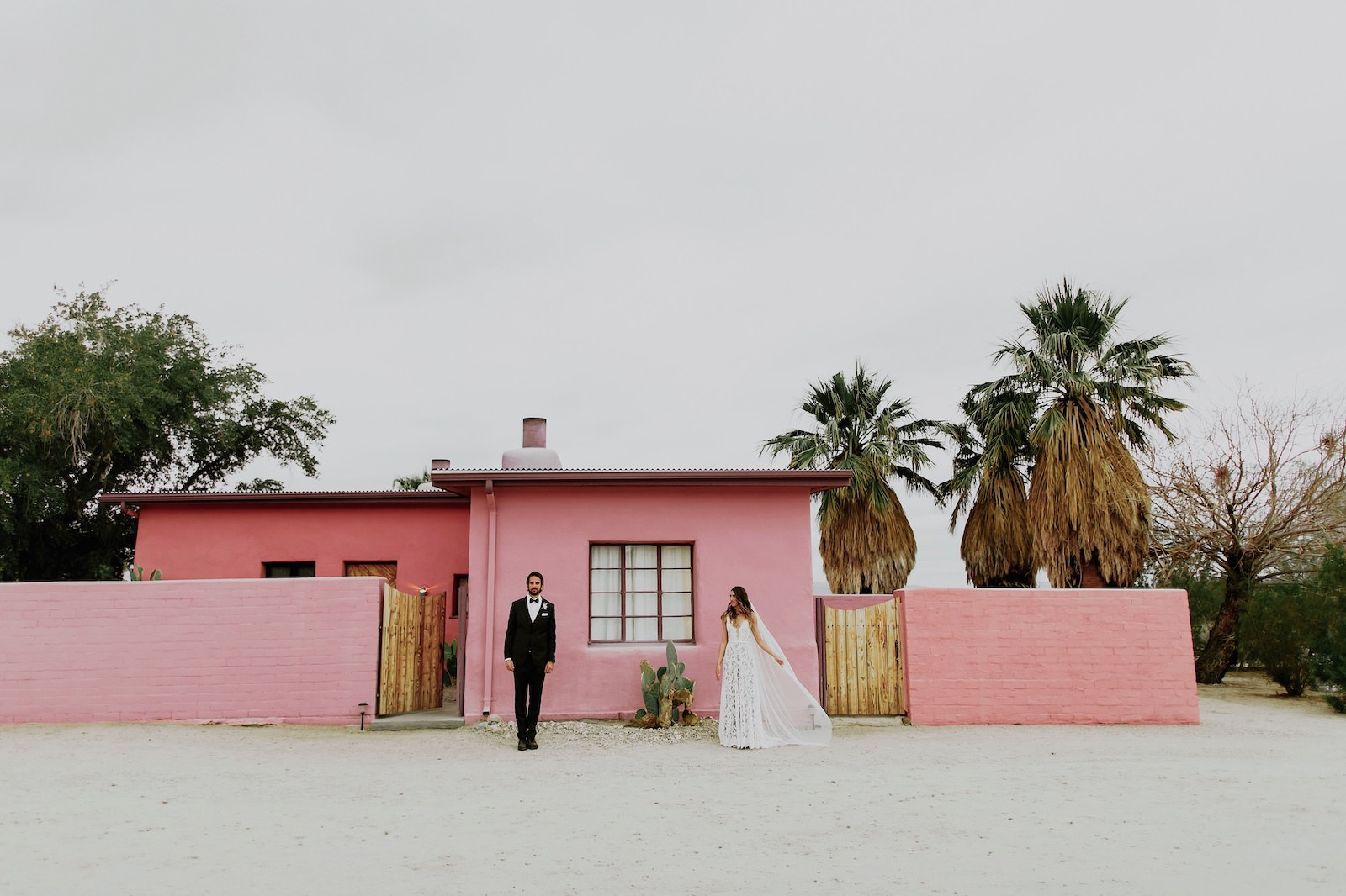 H+M Joshua Tree Wedding - Jewish Wedding