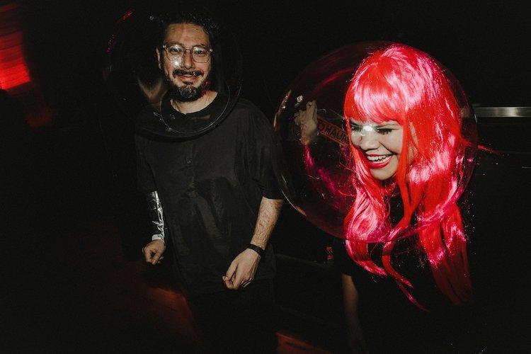 Sambajoy - Madalena and Marcelo having fun!