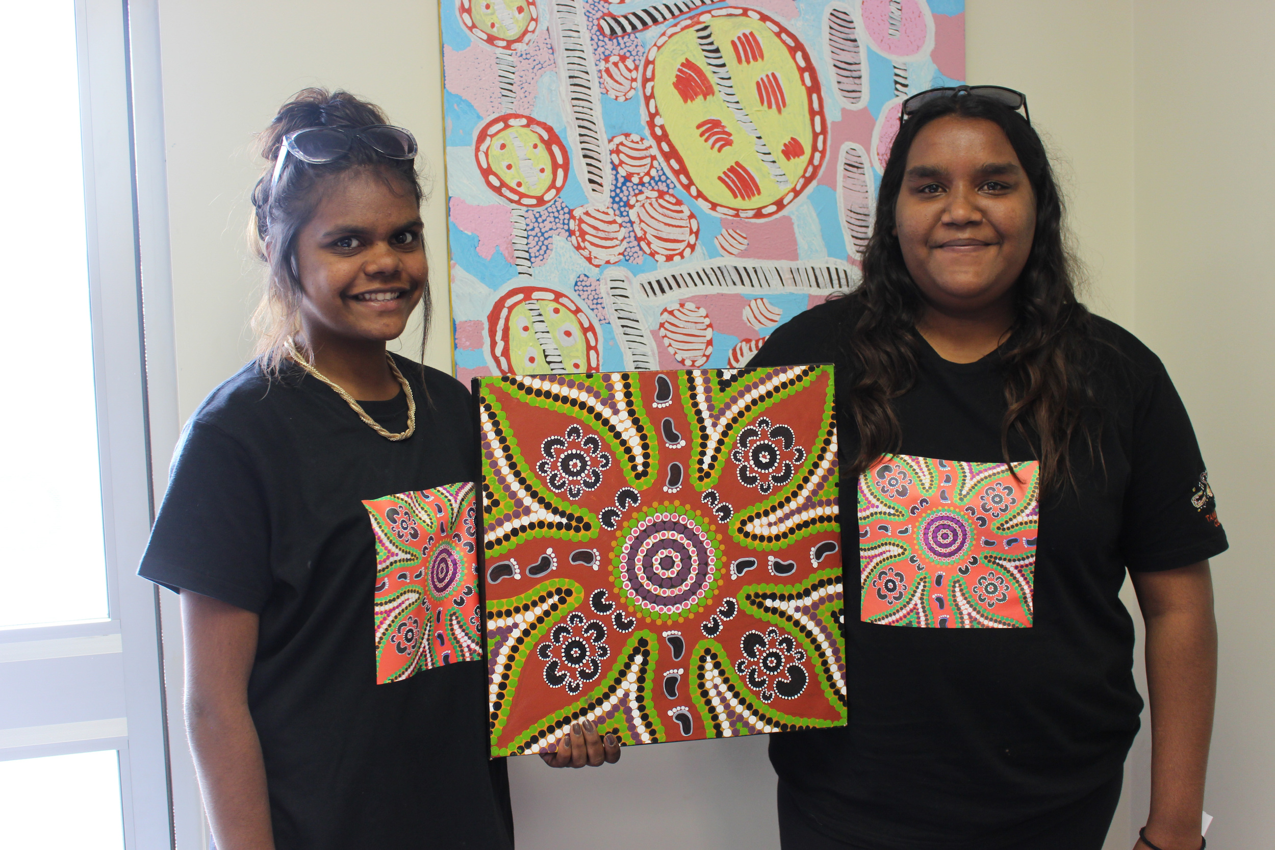 Kitana and Connie Shaw say Tangentyere's Domestic Violence Children's Specialist program is giving them the tools and self confidence to say not to violence.