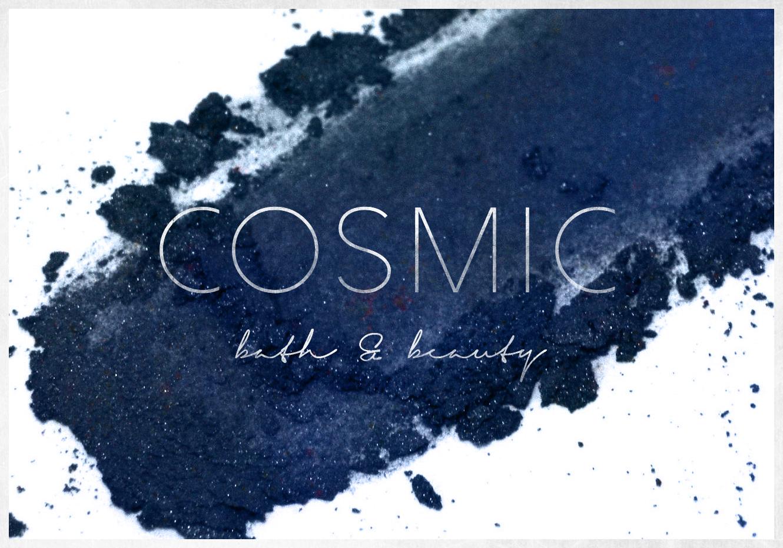 Cosmic Bath & Beauty - brand design by Spirit & Haven