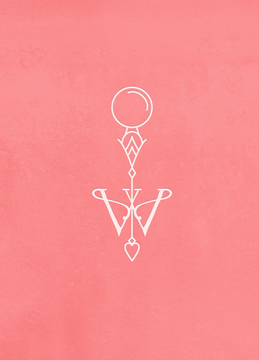 Veronica Varlow - brand design by Spirit & Haven