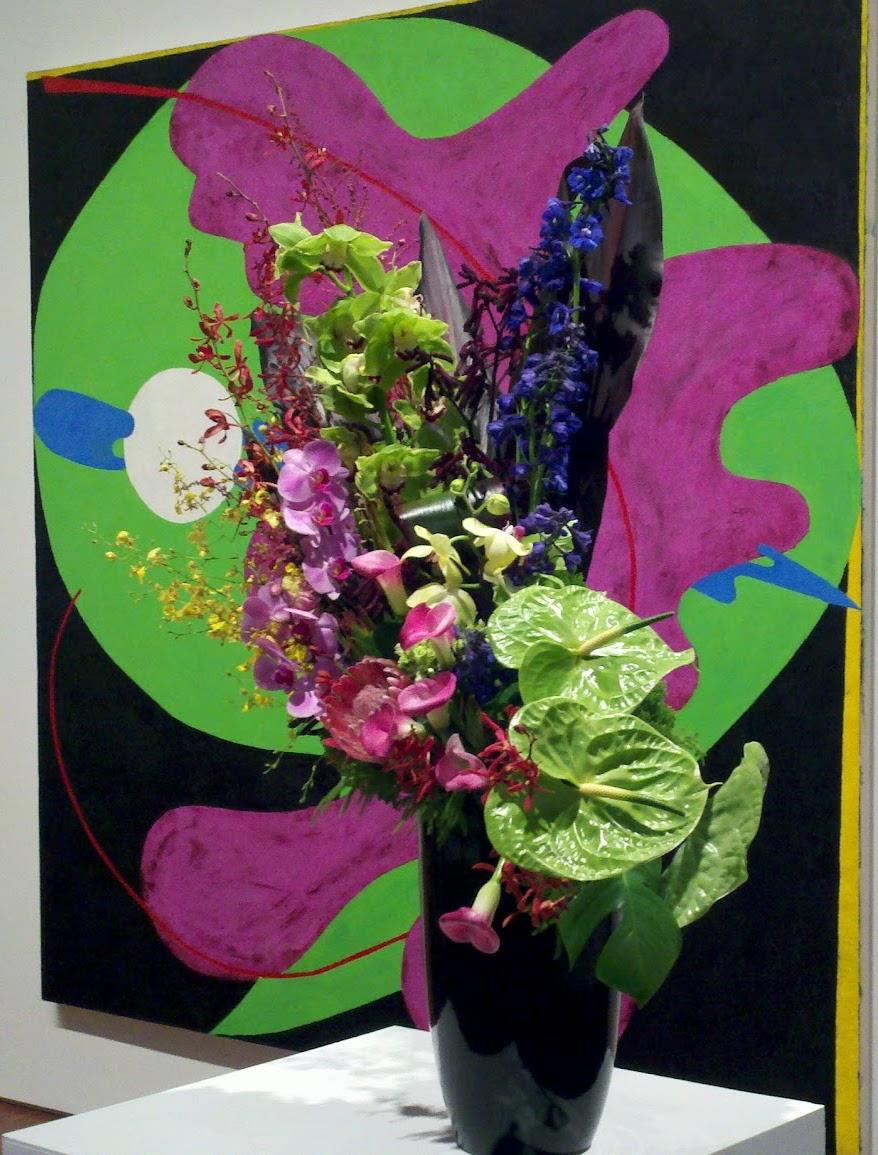| My 2012 Art in Bloom entry |