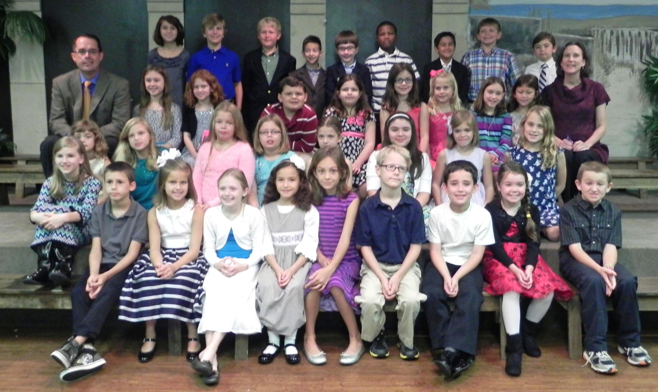 Third graders and their teachers, 2013