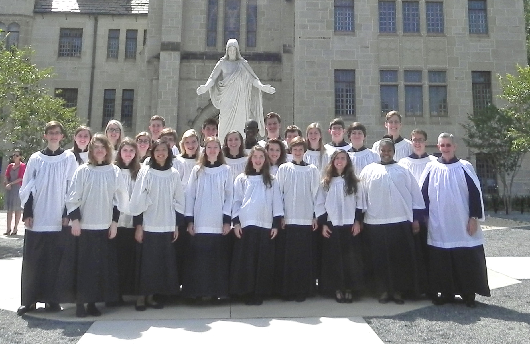 St. Paul's Choral Scholars, May 2014