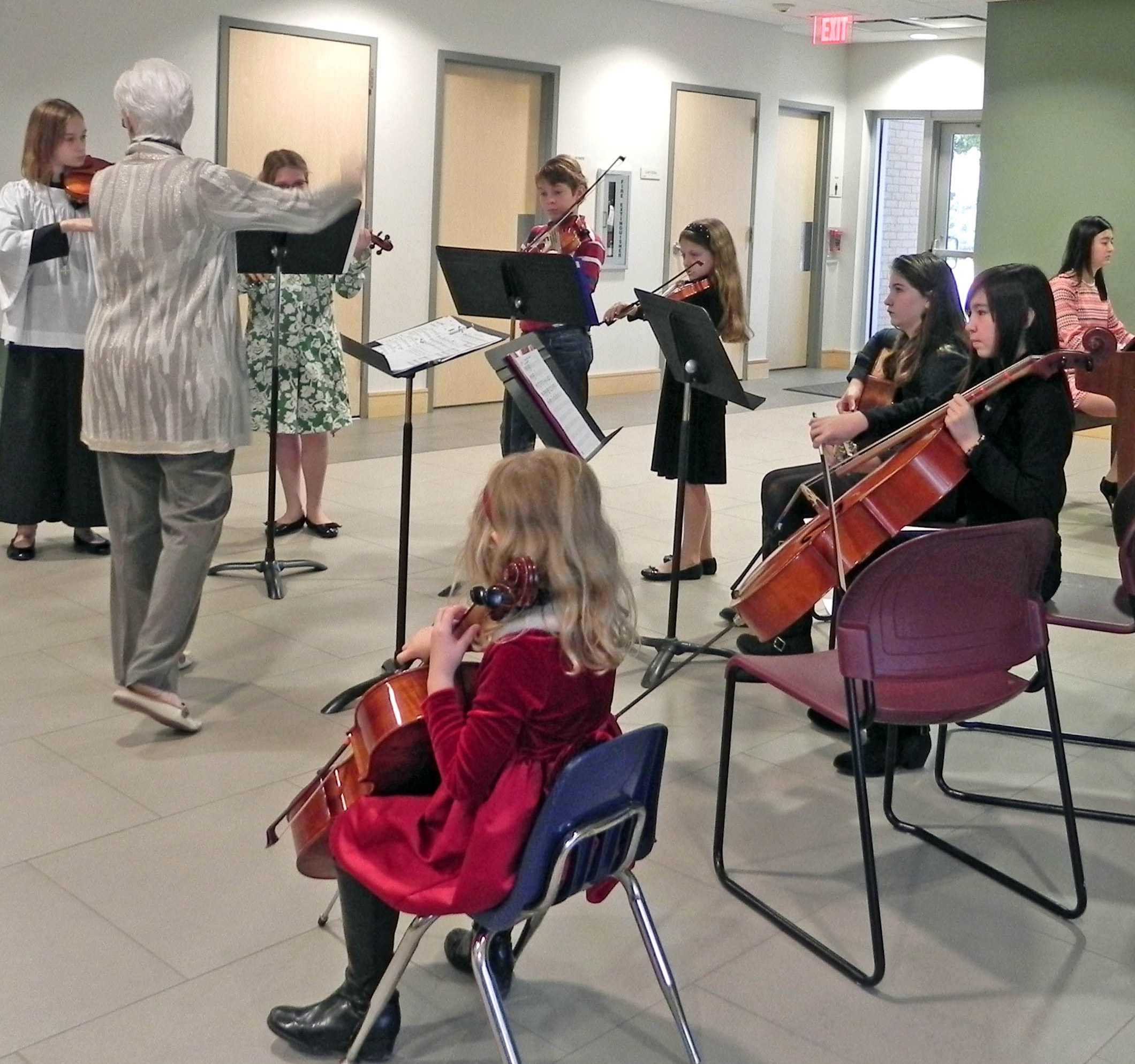 St. Paul's Youth Strings, Advent 2014