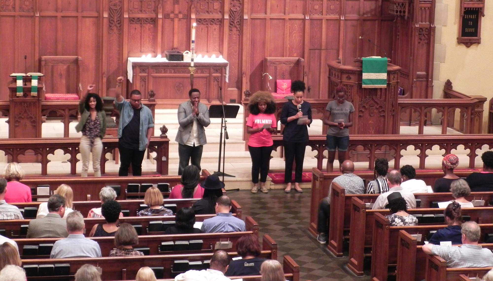 A Benediction Chant concludes the vigil