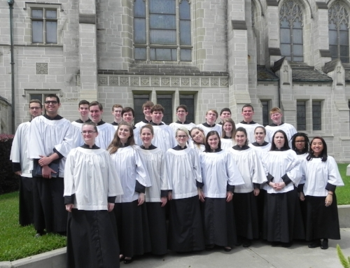 2015-16 Choral Scholars, May 2016