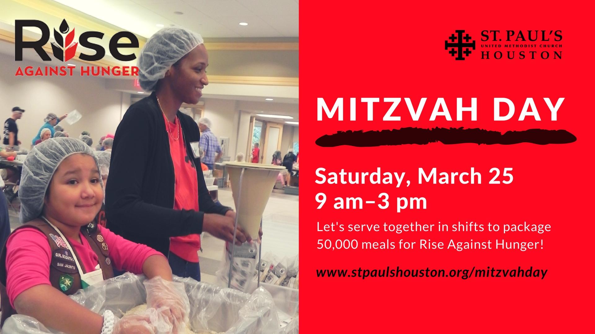 Mitzvah Day - Spring 2017