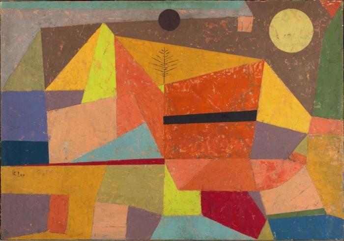 Joyful Mountain Landscape by Paul Klee, 1929
