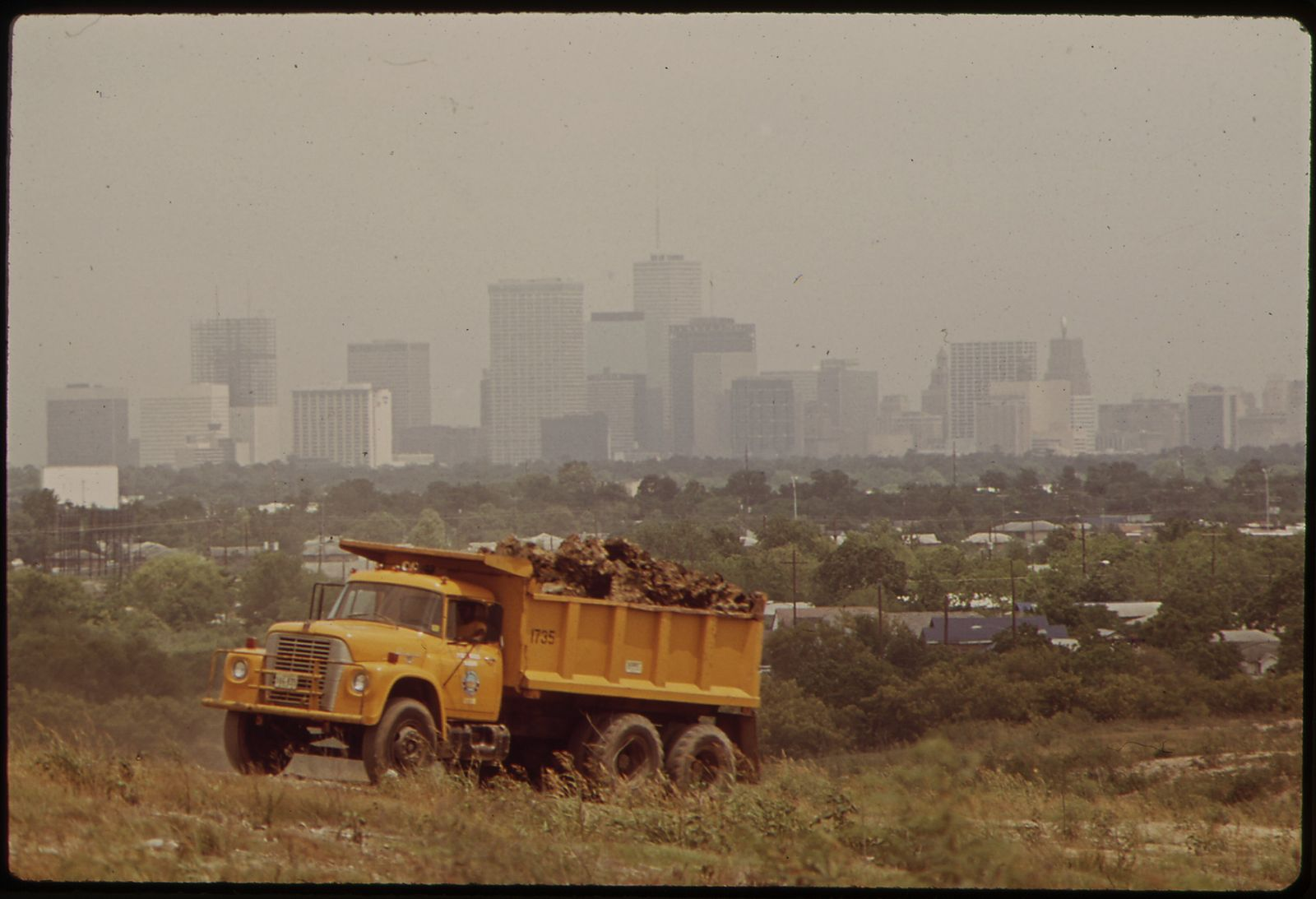 Houston, 1970. Just like in Chicago, most dumps in the city of Houston, both legal and illegal, were in Black neighborhoods, like this one in the Sunnyside neighborhood.