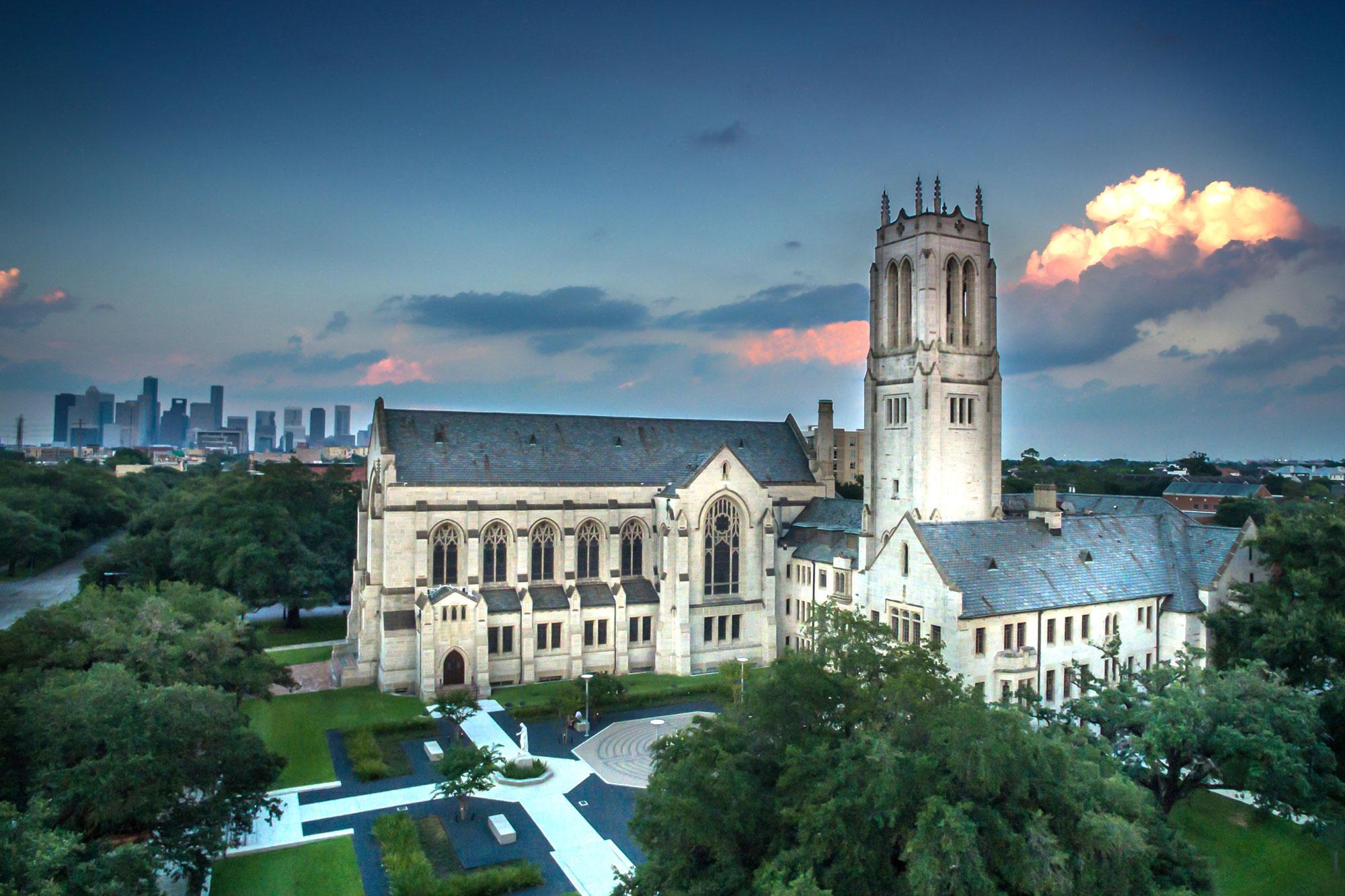 Aerial of St. Paul's