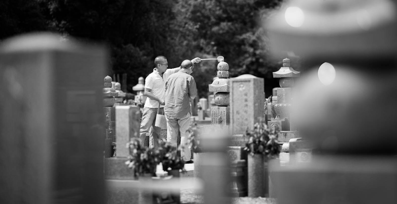 Kyoto Friedhof