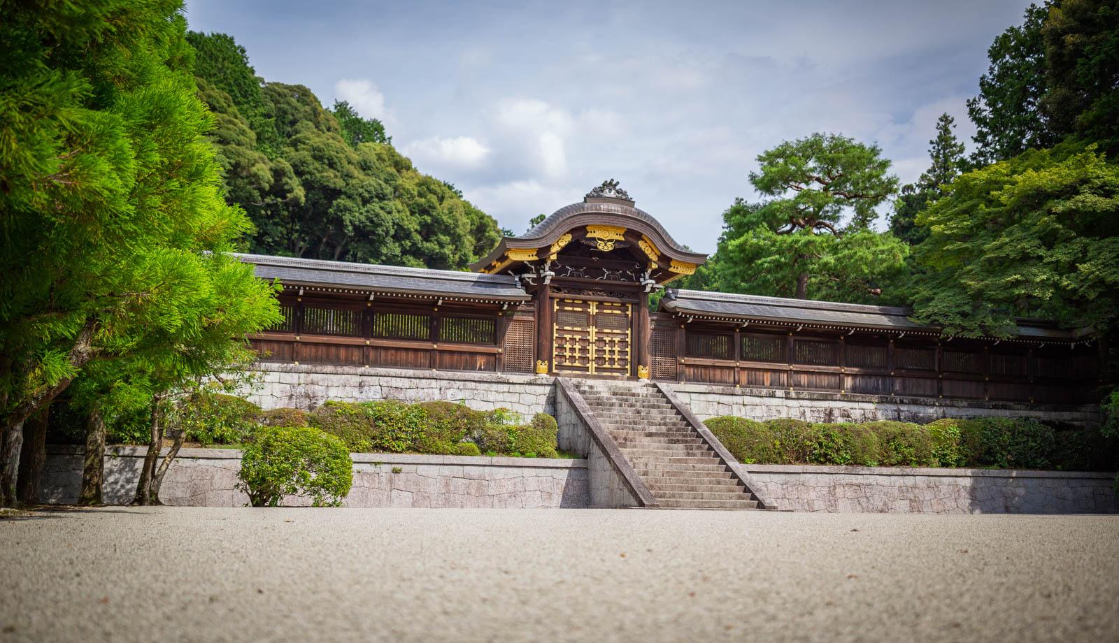 Kyoto Tor mit Zen-Garten