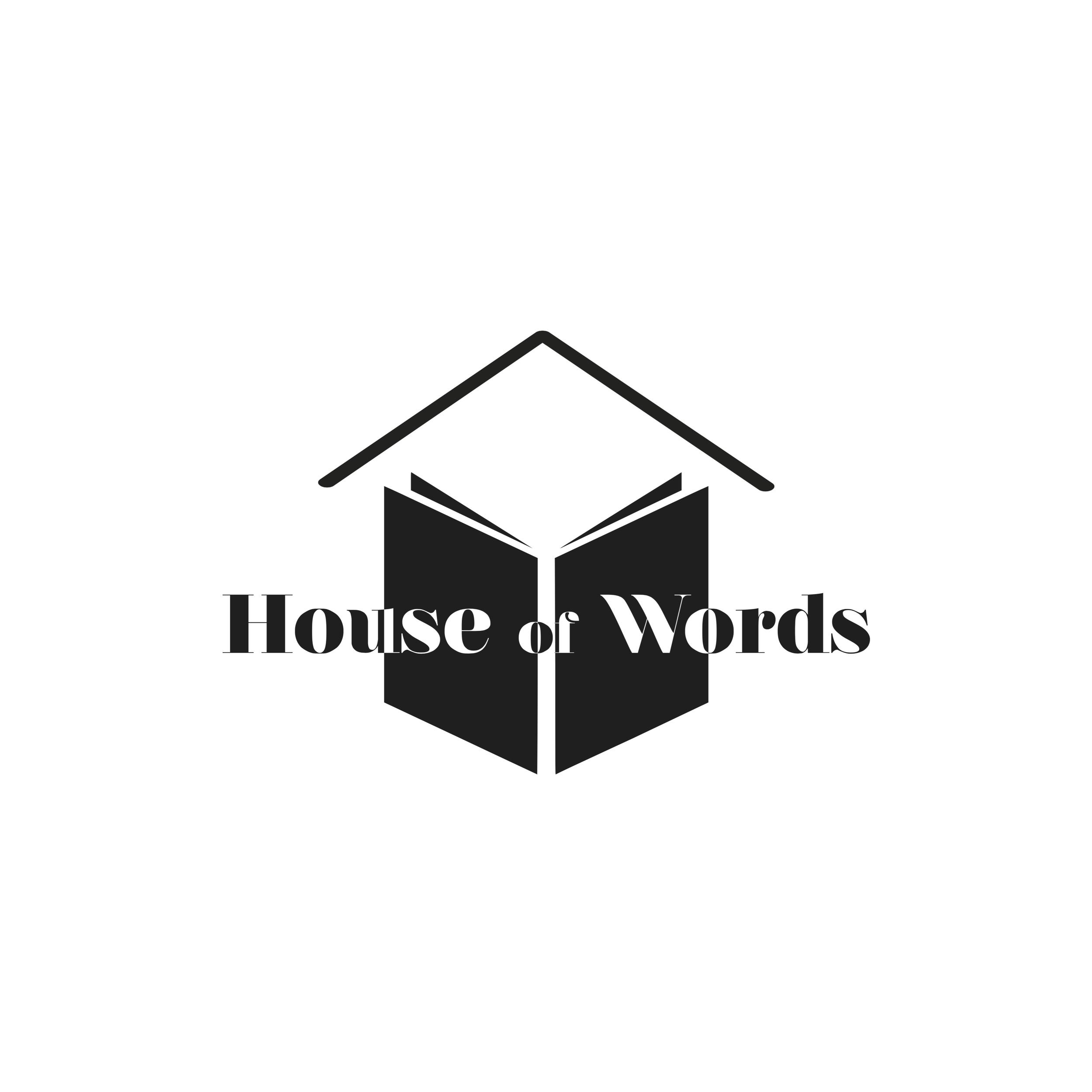 """House of Words"" - Logo (online Blog)"