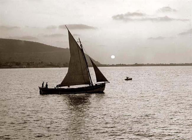 Crossing the Sea of Galilee