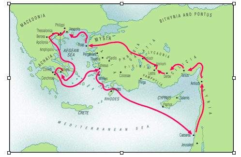 Map Pauls 2nd journey.png