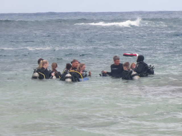 There was a lot to learn and prepare before a dive