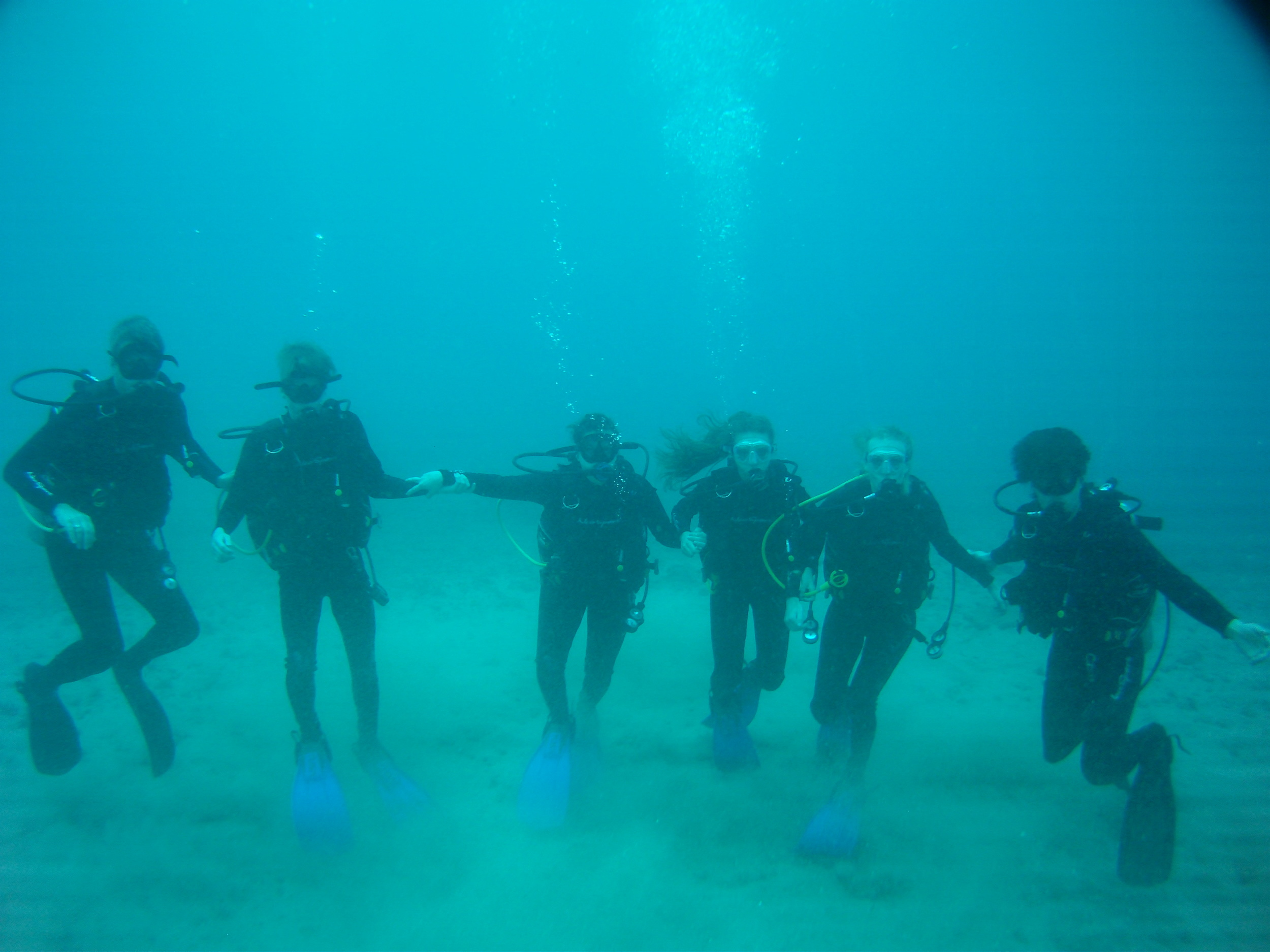 What an experience - 11 meters deep