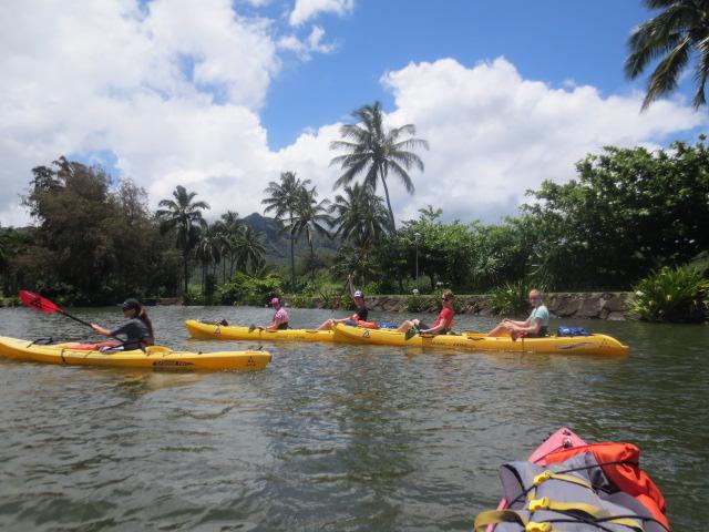 Great kayaking time