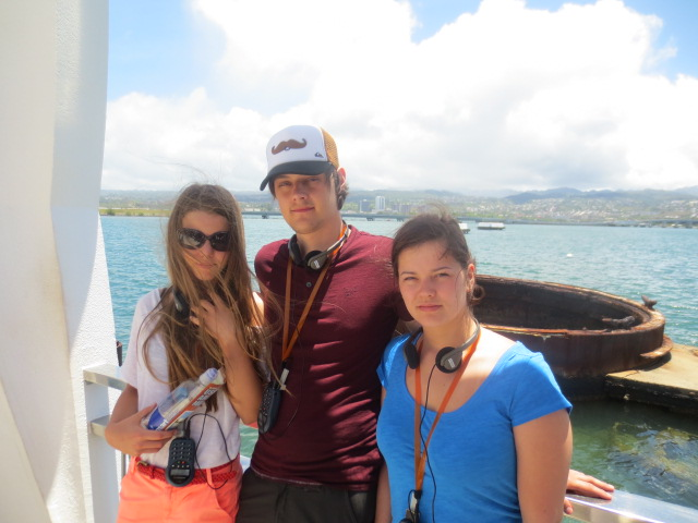 At Arizona memorial