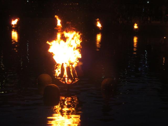 Waterfire in Providence, Rhode Island