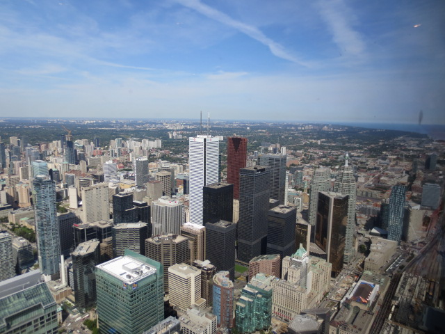 more of Toronto from the tower