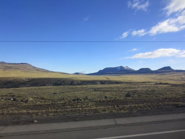 Some of the landscape reminded us very much of Iceland