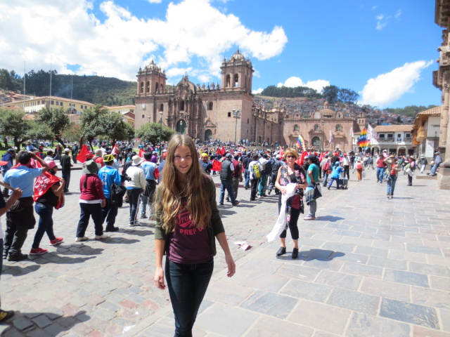 A beginning of a very interesting and a bit scary day in Cusco